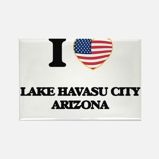 I love Lake Havasu City Arizona USA Design Magnets