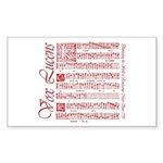 Vox Lucens #2 Rectangle Sticker