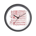 Vox Lucens #2 Wall Clock