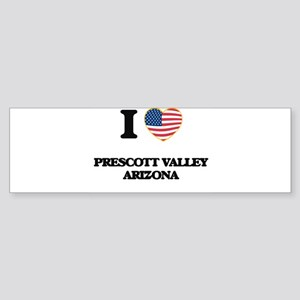 I love Prescott Valley Arizona USA Bumper Sticker