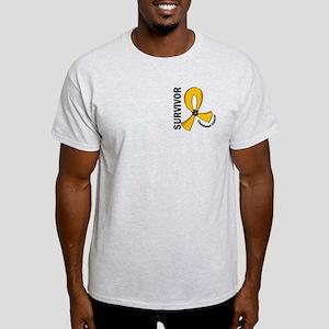 Childhood Cancer Survivor 12 Light T-Shirt