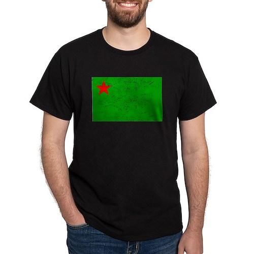Benin Flag (Distressed) T-Shirt