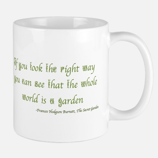 The Secret Garden Quote Mugs
