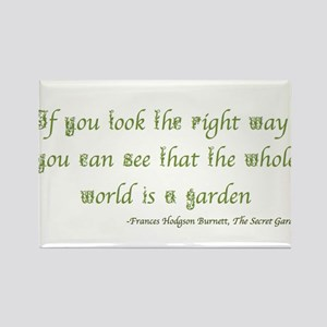 The Secret Garden Quote Magnets