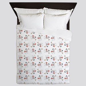 HOCKEY BEARS Queen Duvet