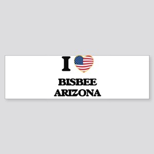 I love Bisbee Arizona USA Design Bumper Sticker