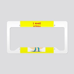 vodka License Plate Holder