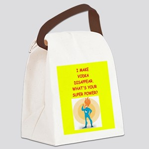 vodka Canvas Lunch Bag