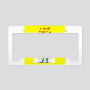 tequila License Plate Holder