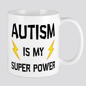 Autism Is My Super Power Mugs