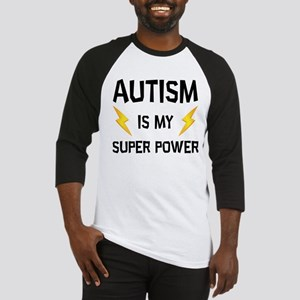 Autism Is My Super Power Baseball Jersey
