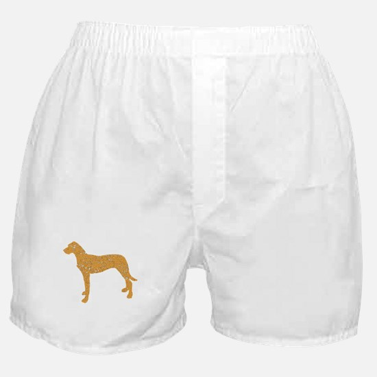 Distressed Brown Rhodesian Ridgeback Boxer Shorts