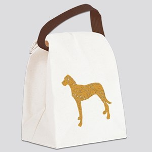 Distressed Brown Rhodesian Ridgeback Canvas Lunch