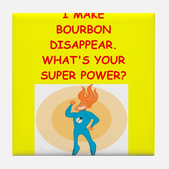 bourbon Tile Coaster