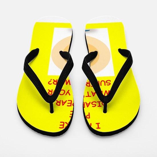 pie Flip Flops