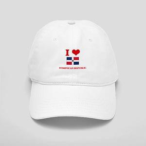 I Love Dominican Republic Cap