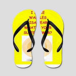waffles Flip Flops