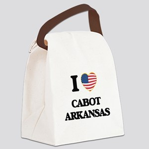 I love Cabot Arkansas USA Design Canvas Lunch Bag