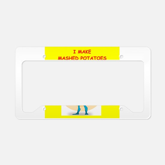 mashed License Plate Holder