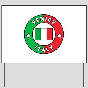 Venice Italy Yard Sign