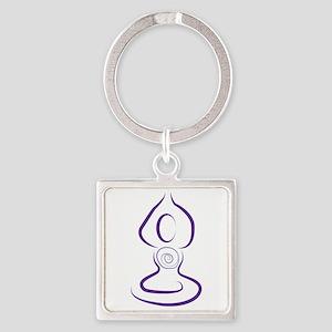 Yoga Symbol Keychains
