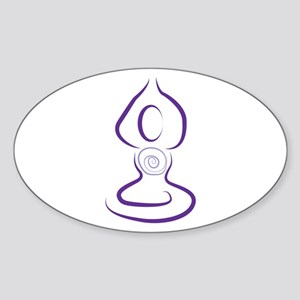 Yoga Symbol Sticker