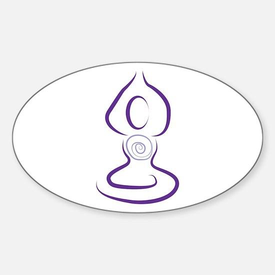 Yoga Symbol Decal