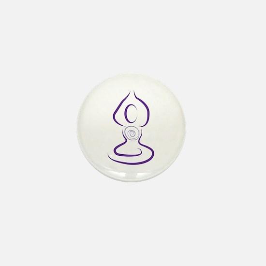 Yoga Symbol Mini Button