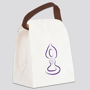 Yoga Symbol Canvas Lunch Bag