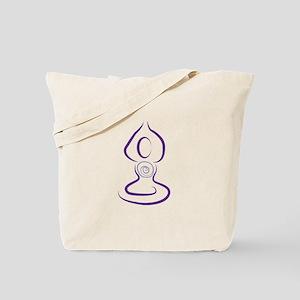 Yoga Symbol Tote Bag