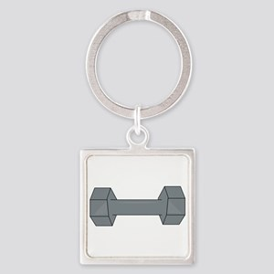 Barbell Keychains