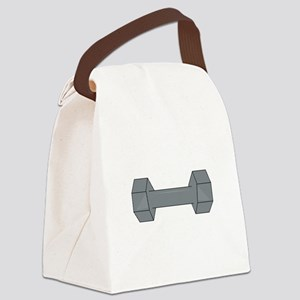 Barbell Canvas Lunch Bag