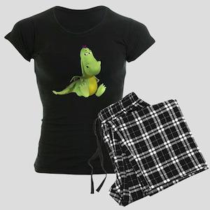 Cute Green Dragon Pajamas