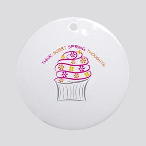 Think Sweet Ornament (Round)