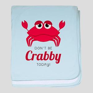 Crabby Today ! baby blanket