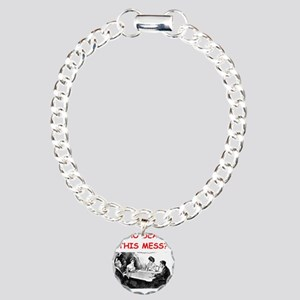 funny bridge joke on gifts and t-shirts Bracelet