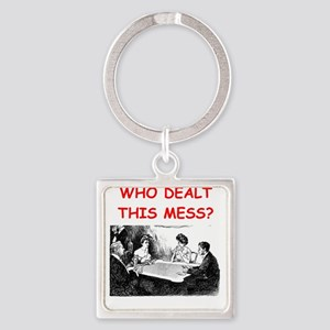 funny bridge joke on gifts and t-shirts Keychains