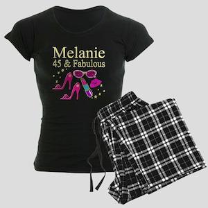 45 AND FABULOUS Women's Dark Pajamas
