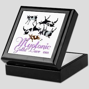 Myotonic Goat Gotta love'em Keepsake Box