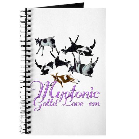 Myotonic Goat Gotta love'em Journal