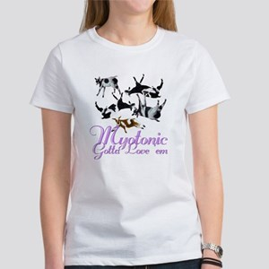 Myotonic Goat Gotta love'em Women's T-Shirt