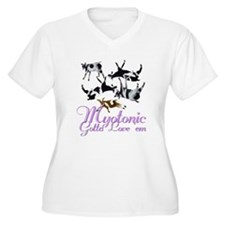 Myotonic Goat Gotta love'em Women's Plus Size V-Ne