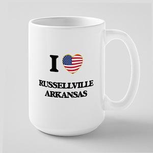 I love Russellville Arkansas USA Design Mugs