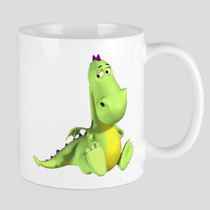 Cute Green Dragon Mugs