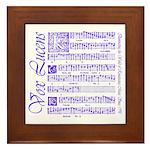 Vox Lucens #4 Framed Tile