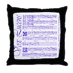 Vox Lucens #4 Throw Pillow