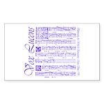 Vox Lucens #4 Rectangle Sticker
