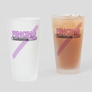 Star stylized Drinking Glass