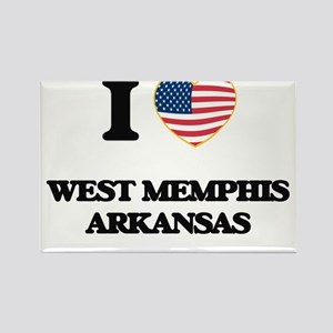I love West Memphis Arkansas USA Design Magnets