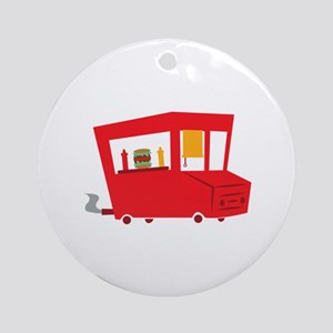 Food Truck Ornament (Round)